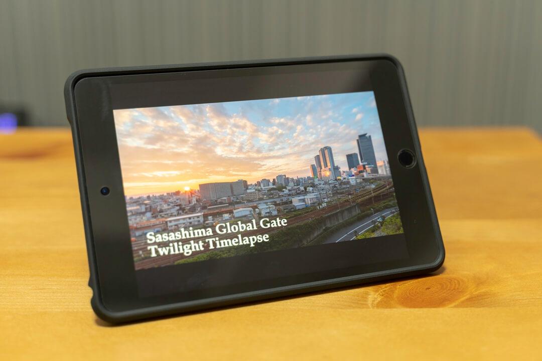 Spigen iPadmini5用タフ・アーマーテックの写真