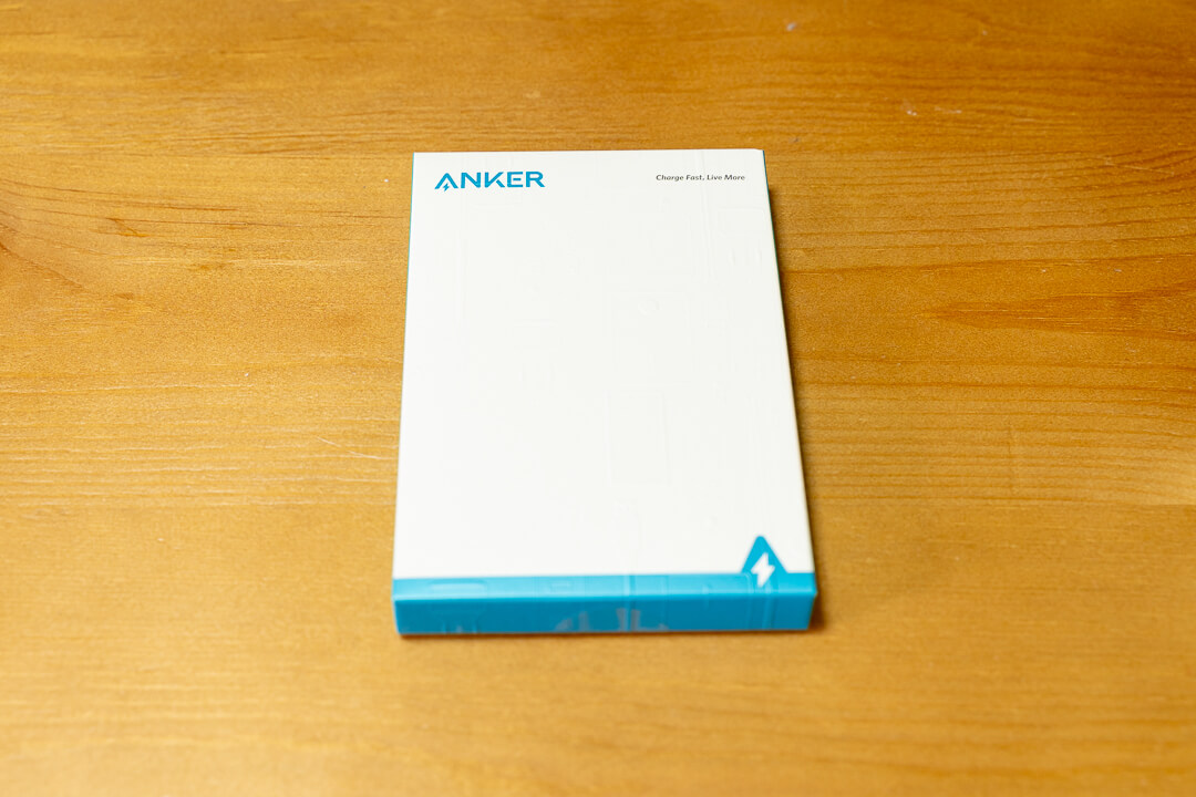 Anker PowerCore Slim 10000PDの化粧箱