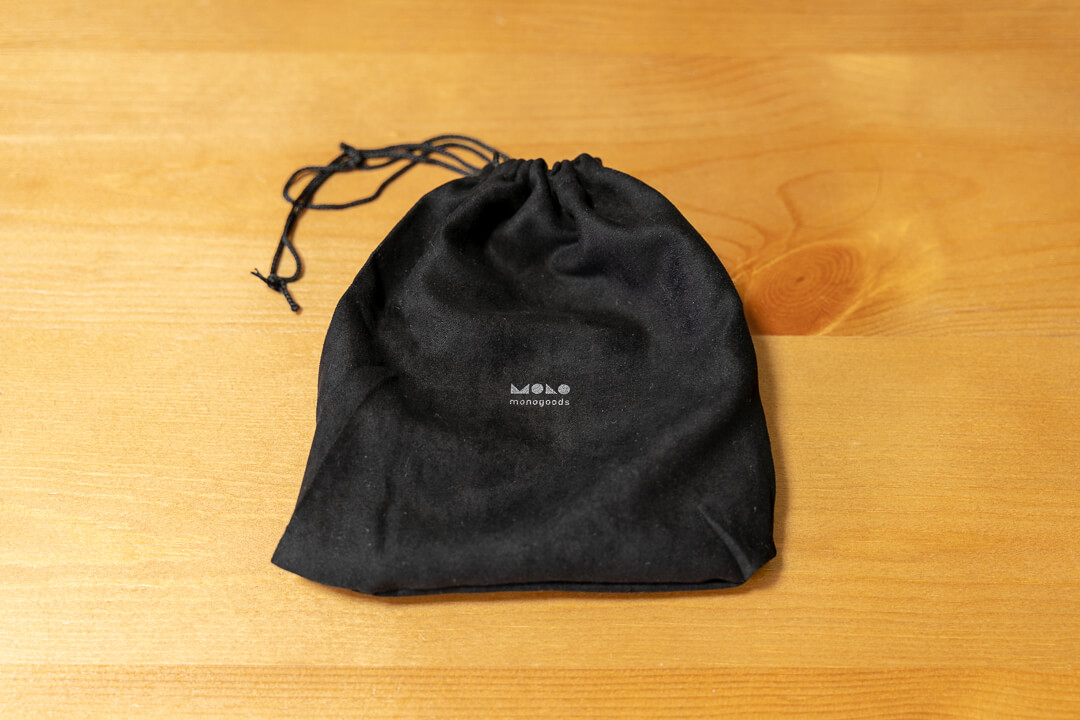monogoods(モノグッズ) ポケット財布のパッケージ