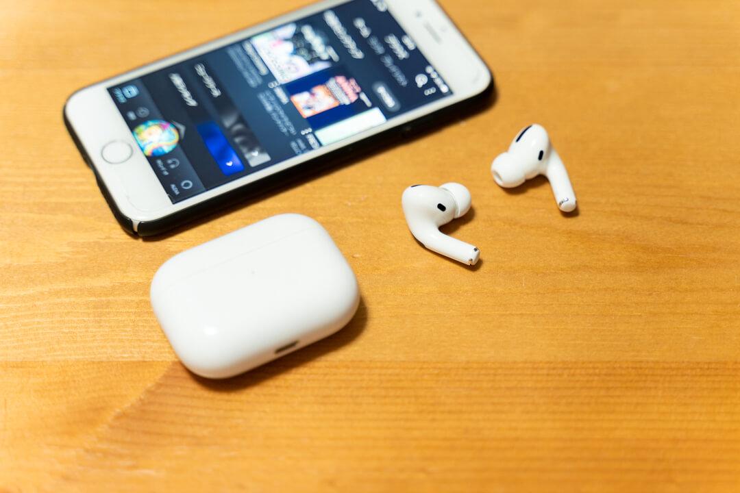 完全ワイヤレスイヤホン 完全ワイヤレスイヤホン Apple AirPods Pro