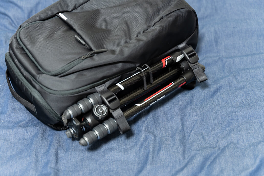 Incase(インケース) DSLR Pro Pack Nylonのサイドポケット