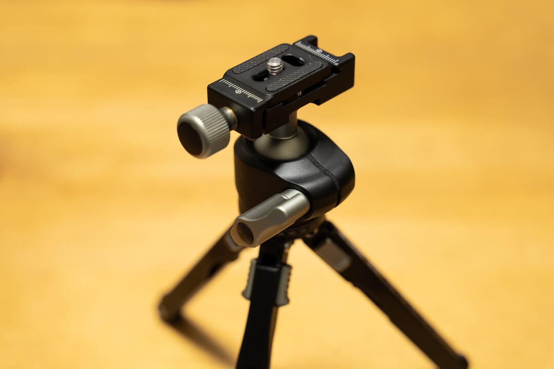 Leofotoの自由雲台「LH-25」の写真