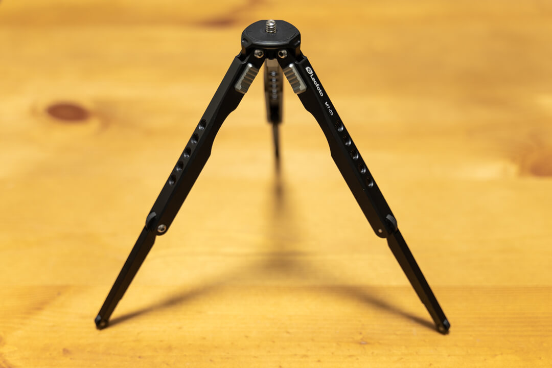 Leofoto MT-03の2段の脚