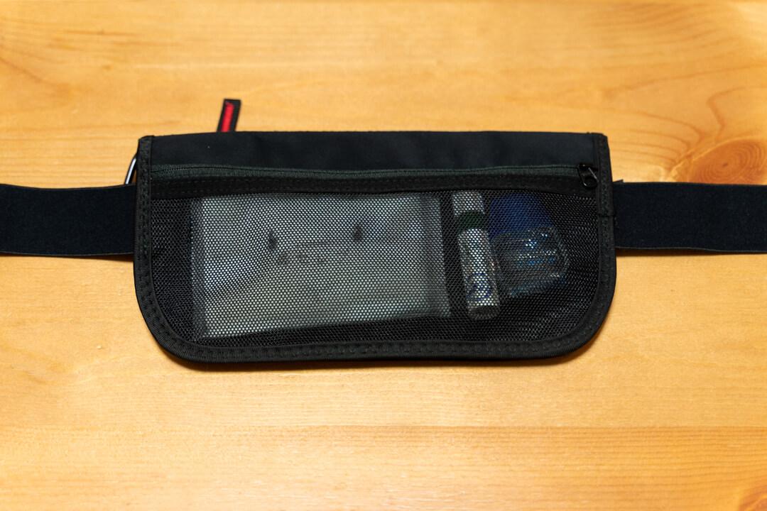 LiberFlyer(リバーフライヤー)セキュリのフロントポケットの写真