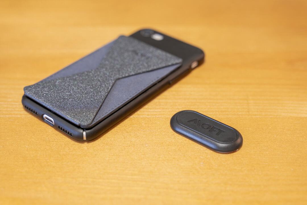 MOFT Xとオプション品の磁器シート