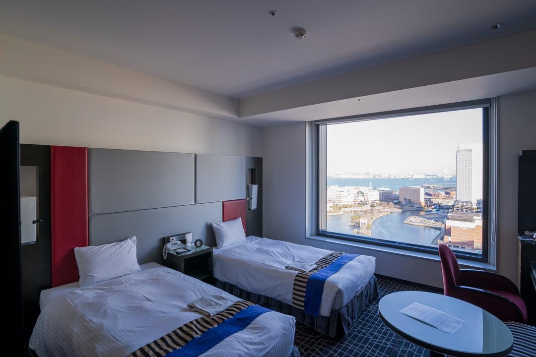 ニューオータニイン横浜プレミアムの客室