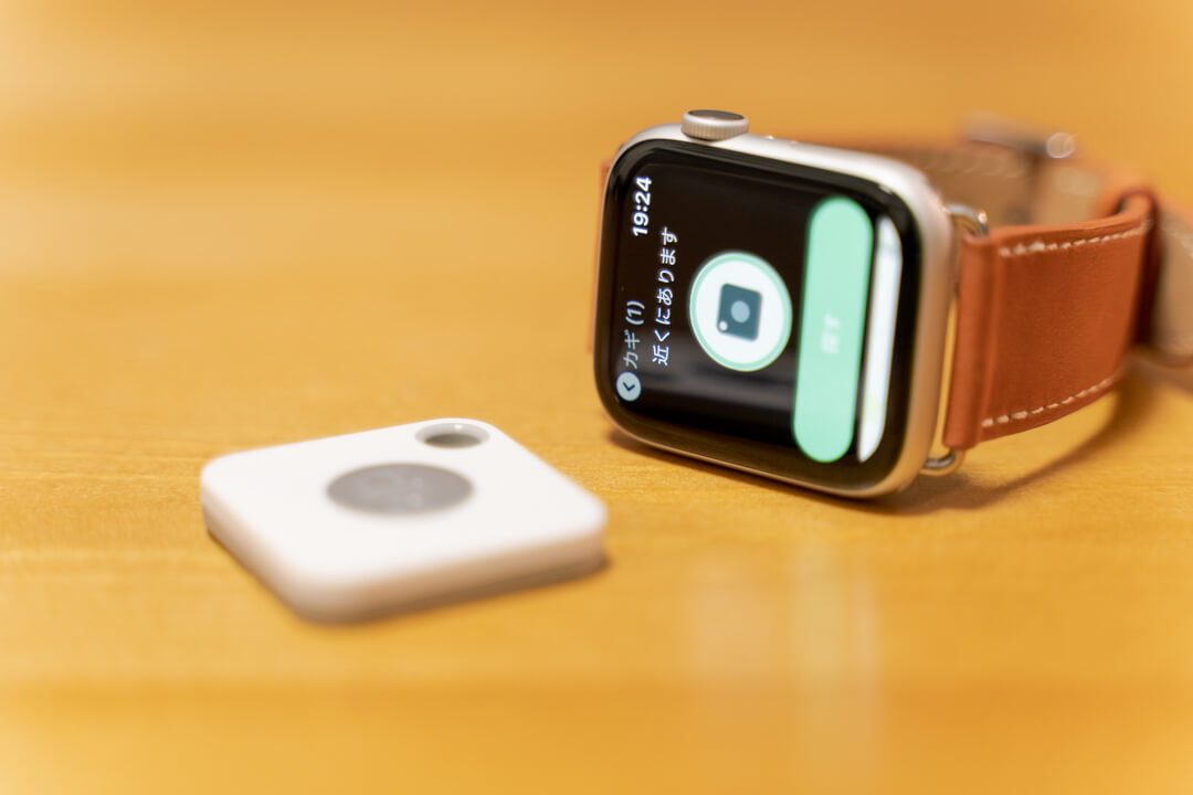 Tile MateとApple Watchのアプリ画面