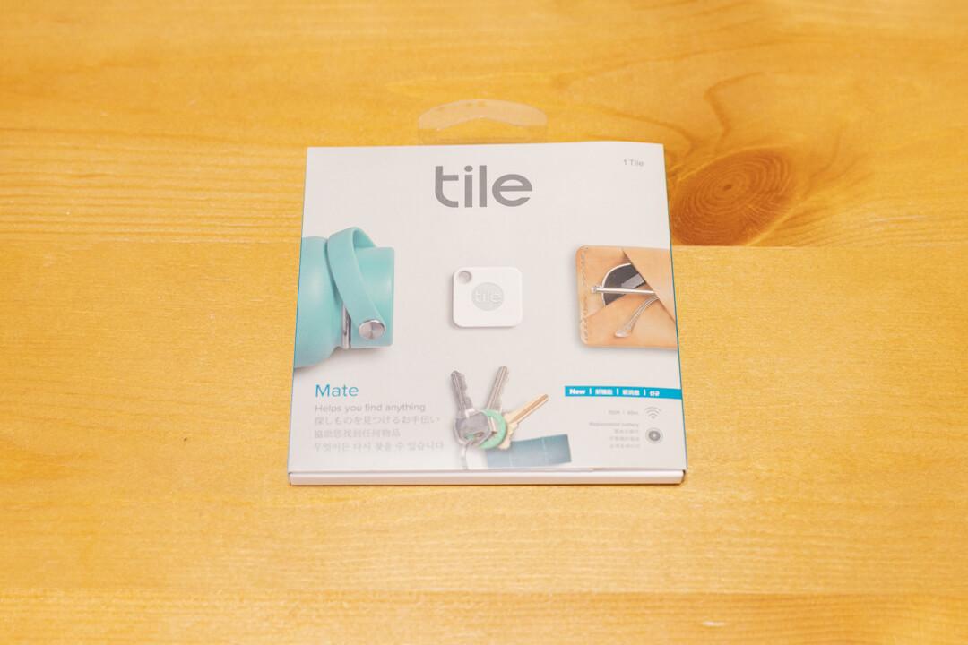 Tile Mateの化粧箱