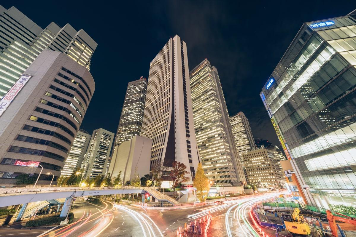新宿の摩天楼