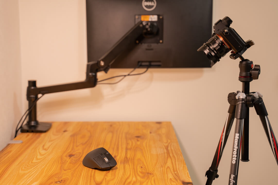 Flexispotの高さを60cmに調整した場合・撮影用