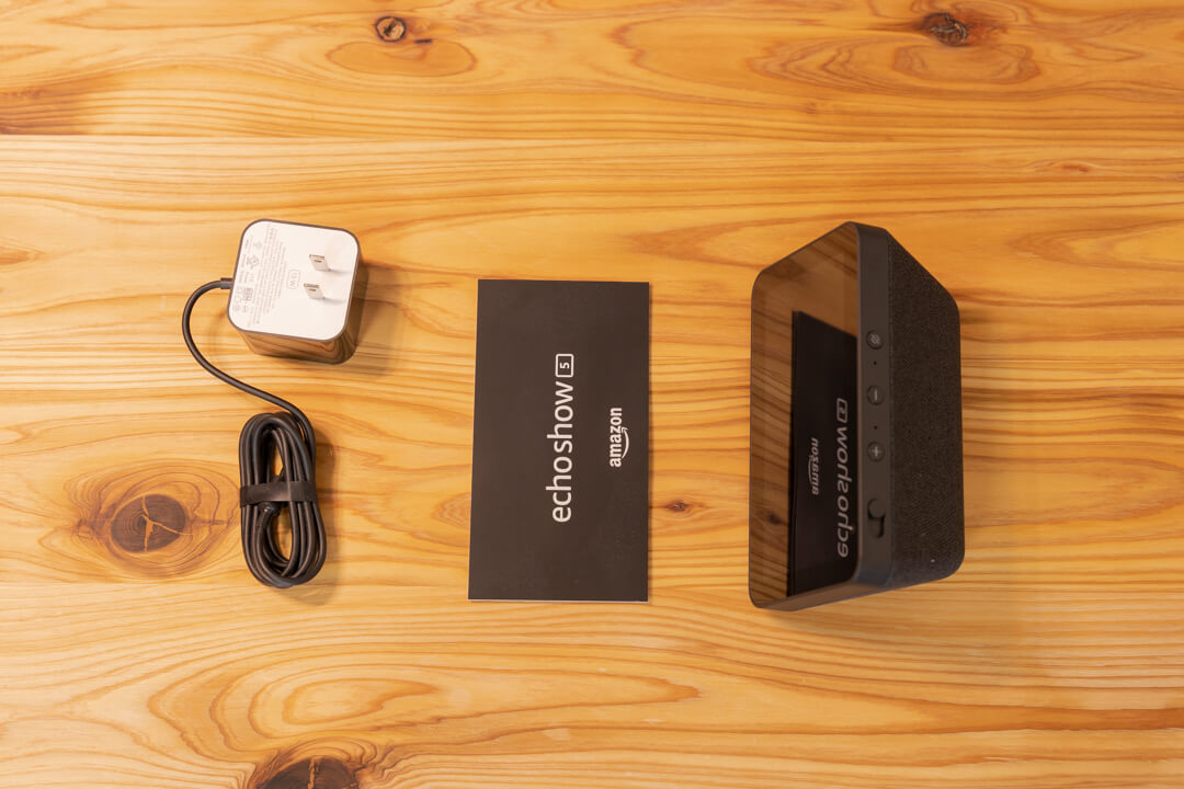 Amazon Echo Show 5の同梱品