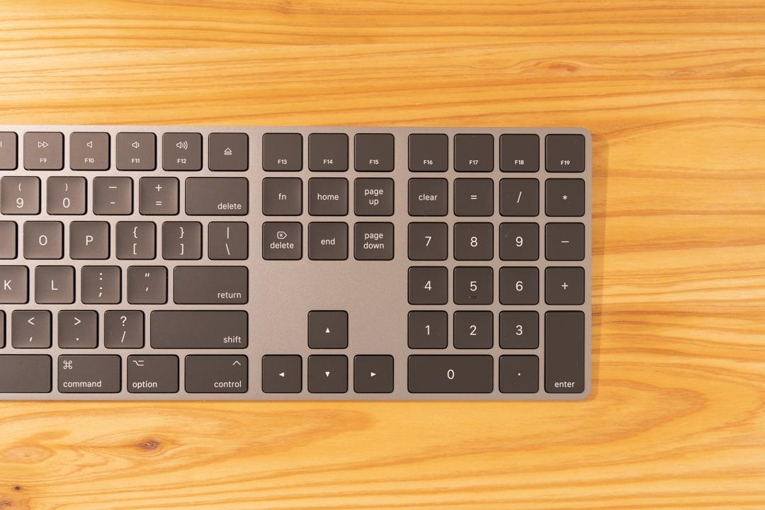 Magic Keyboardのテンキー
