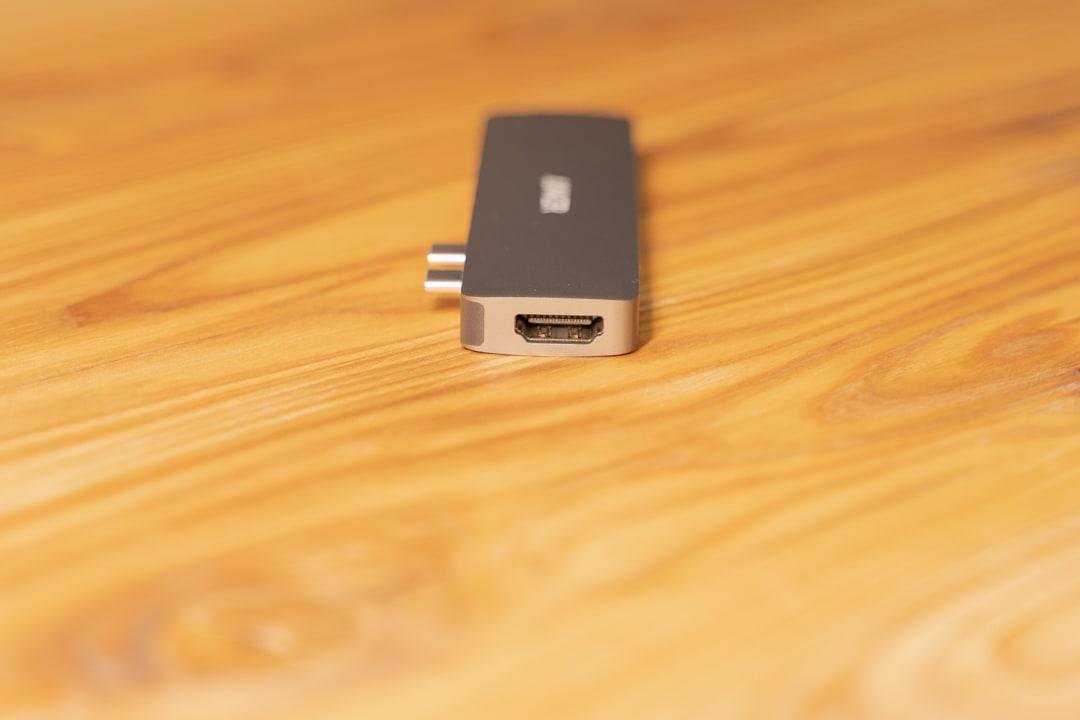 Anker PowerExpand Direct 7-in-2 USB-C PD メディアハブのインターフェイス