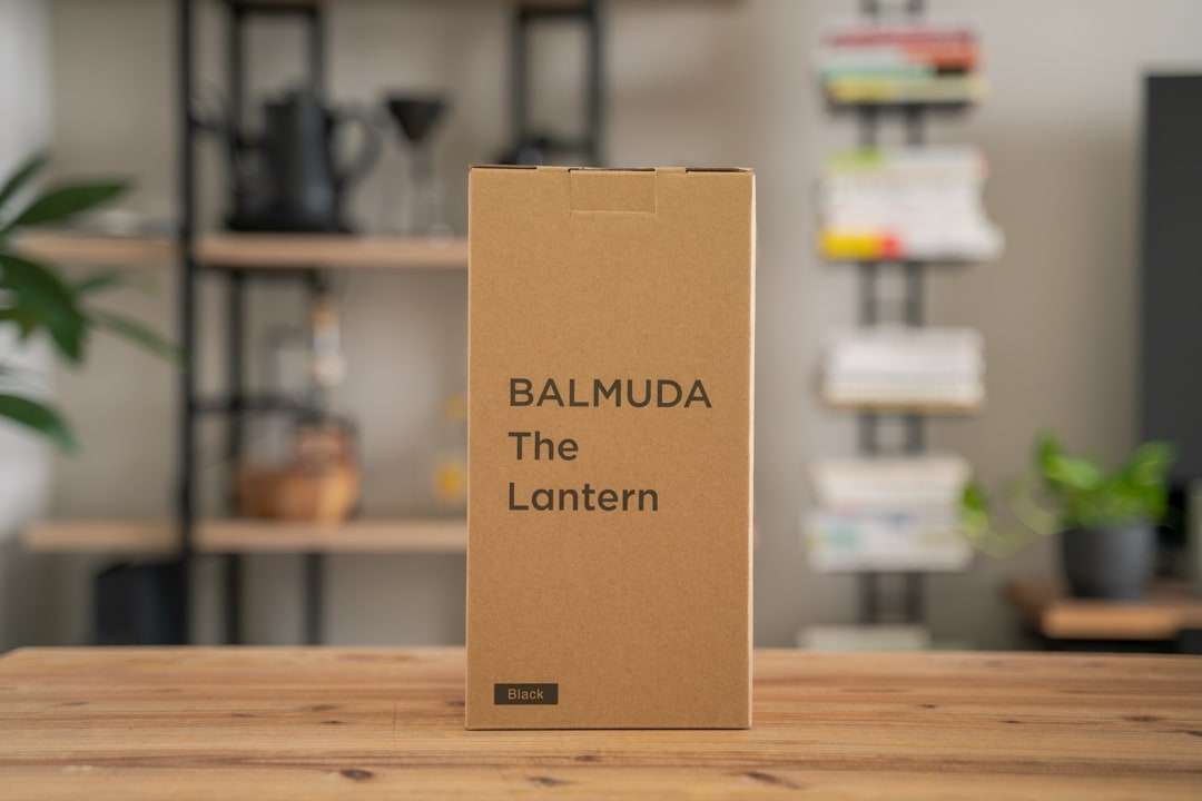 BALMUDA(バルミューダ)の商品パッケージ
