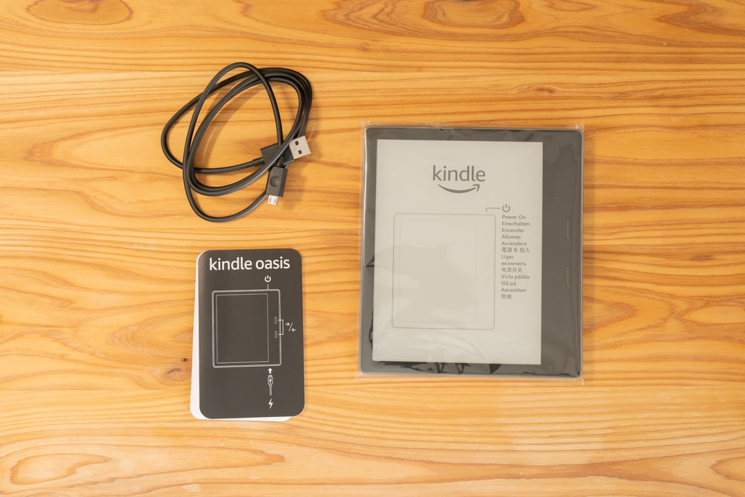 Kindle Oasisの付属品一覧