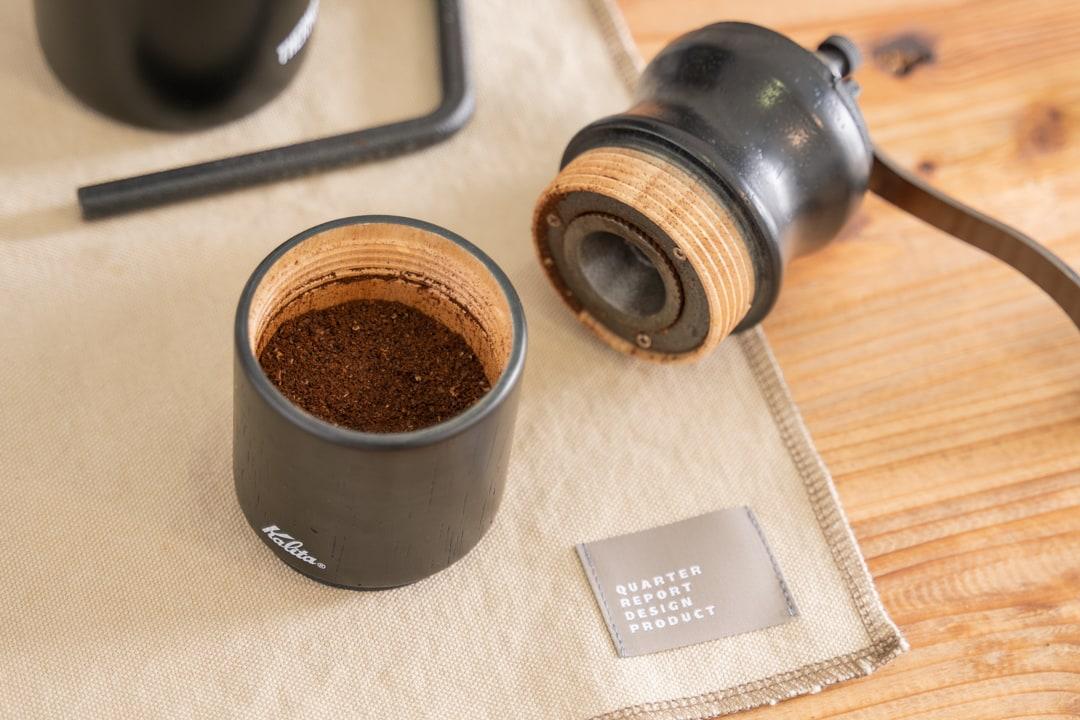 ハンドドリップコーヒーの道具一式