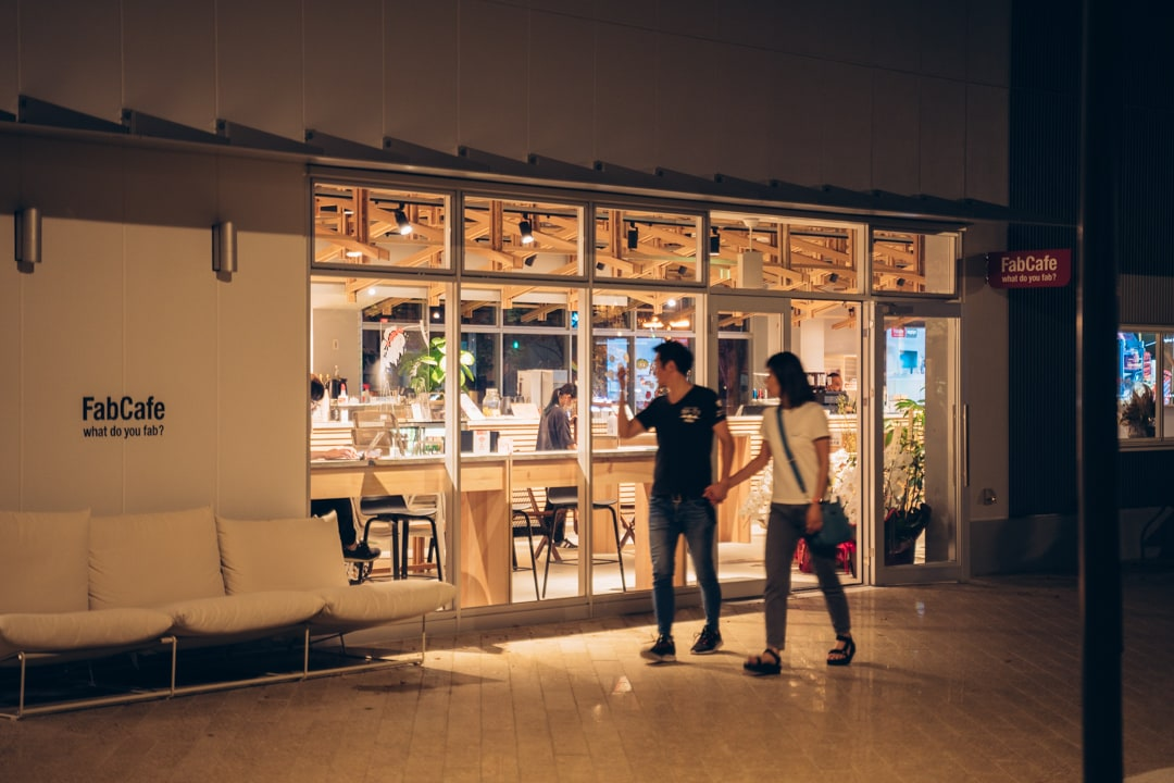 久屋大通公園シバフヒロバにあるカフェ
