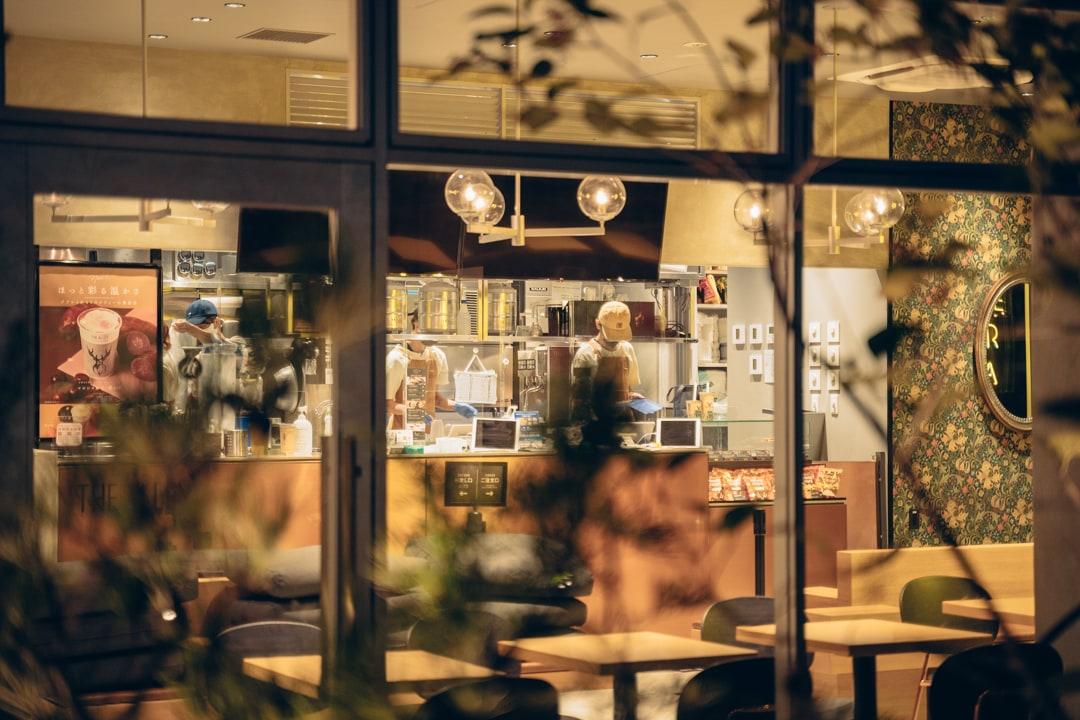 久屋大通公園テレビトーヒロバの飲食店