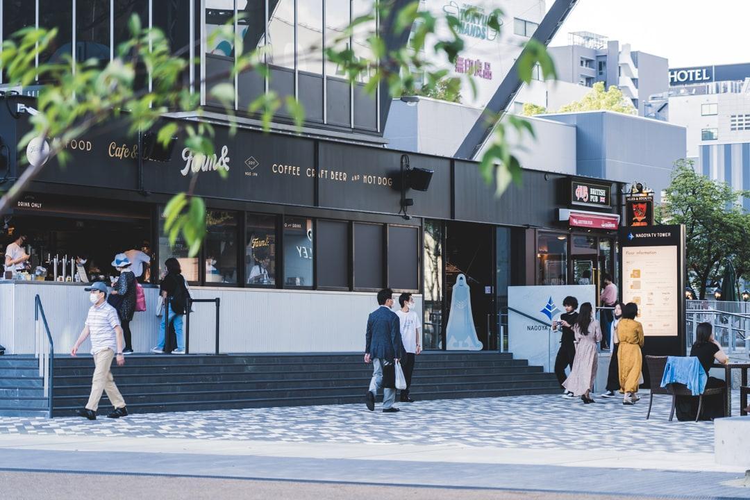 名古屋テレビ塔スカイデッキの入り口