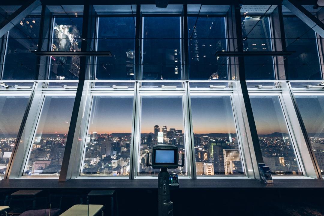 名古屋テレビ塔スカイデッキの写真