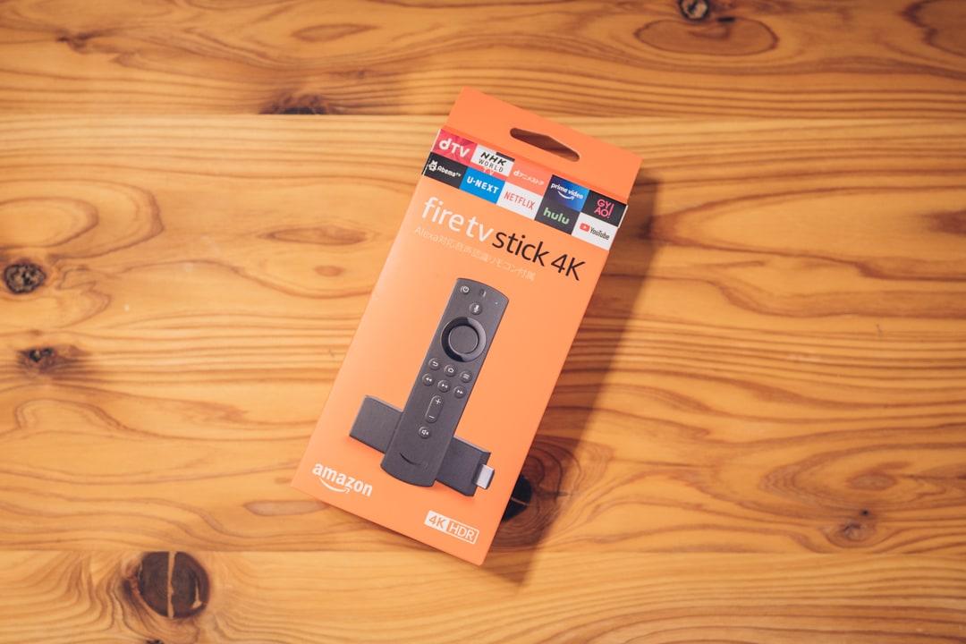 Fire TV Stick 4Kのパッケージ