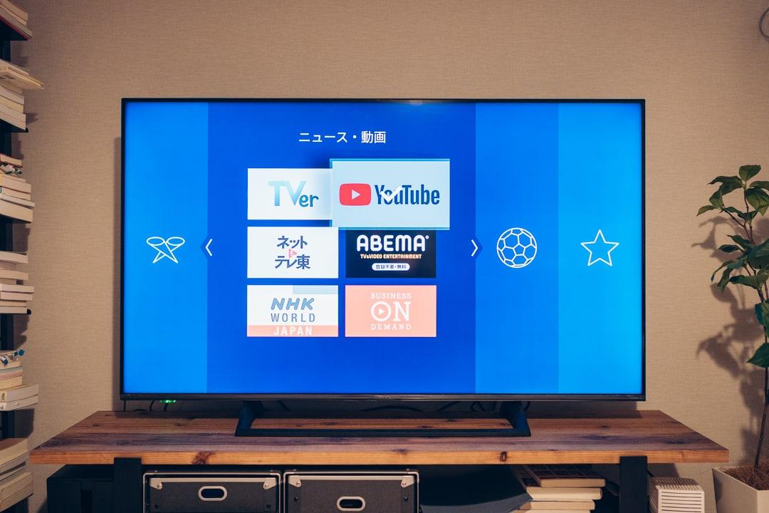 Fire TV Stic 4Kの初期設定画面