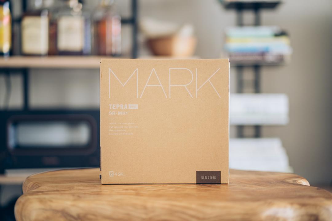テプラ PRO SR-MK1の商品パッケージ