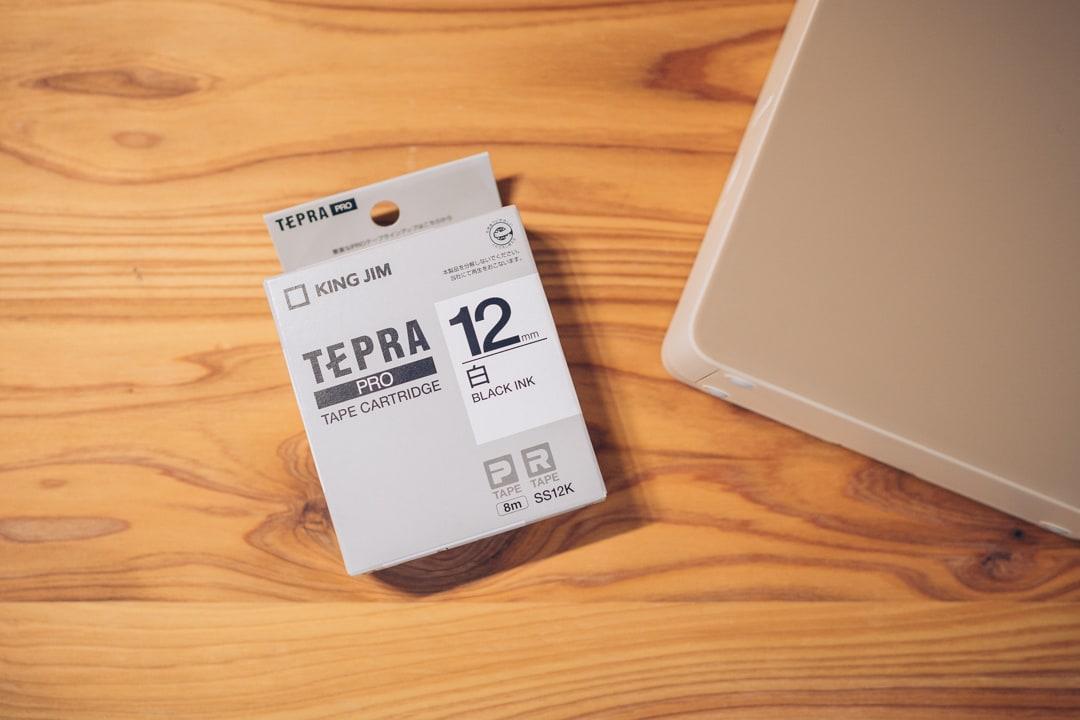 テプラ PRO SR-MK1のテープ