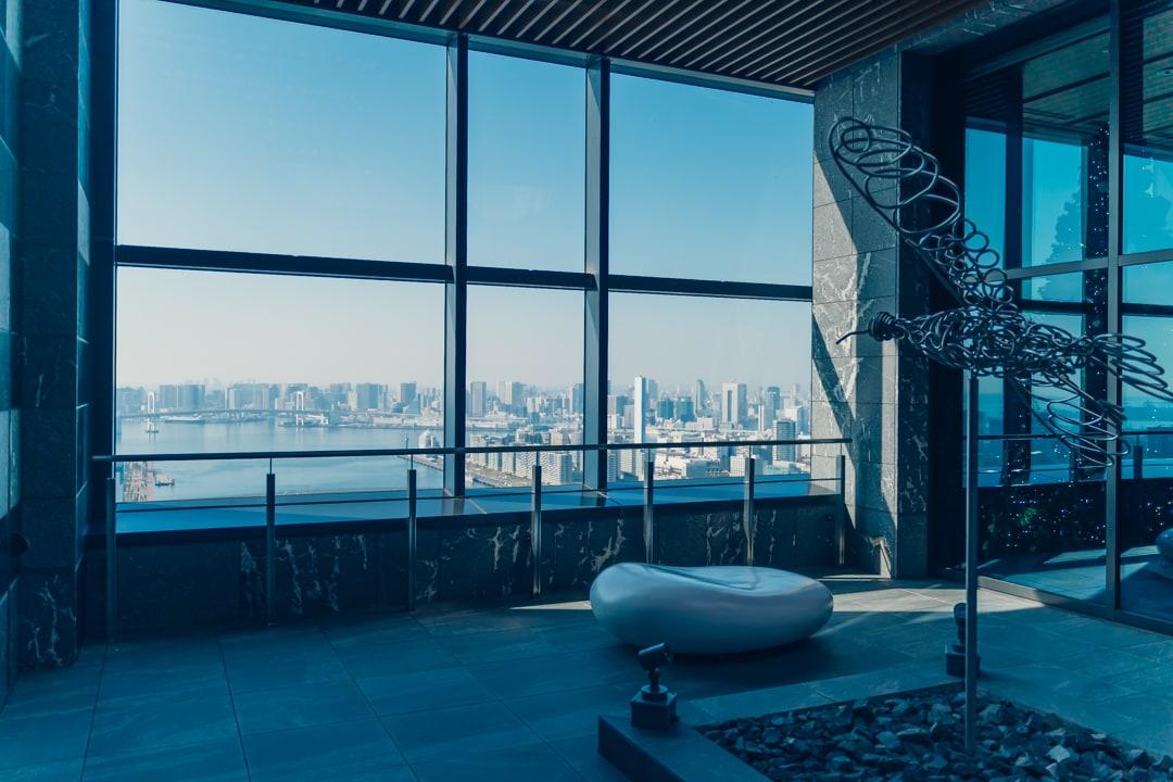 三井ガーデンホテル豊洲ベイサイドクロスの展望室