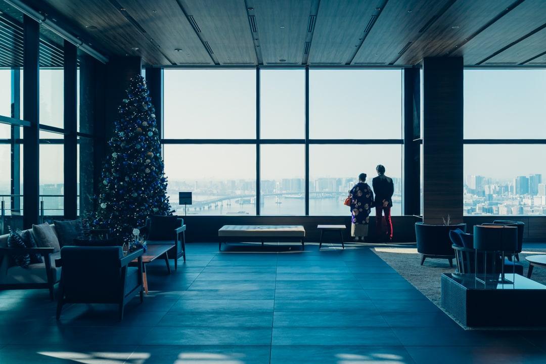 三井ガーデンホテル豊洲ベイサイドクロスのフロント