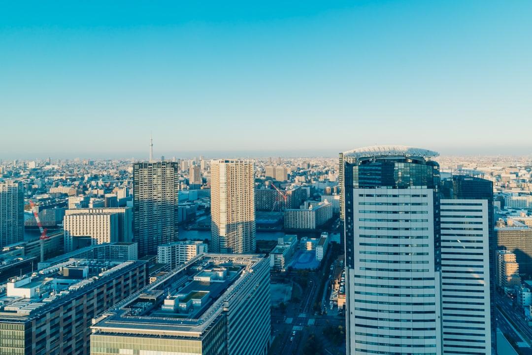 三井ガーデンホテル豊洲ベイサイドクロスの客室からの眺望