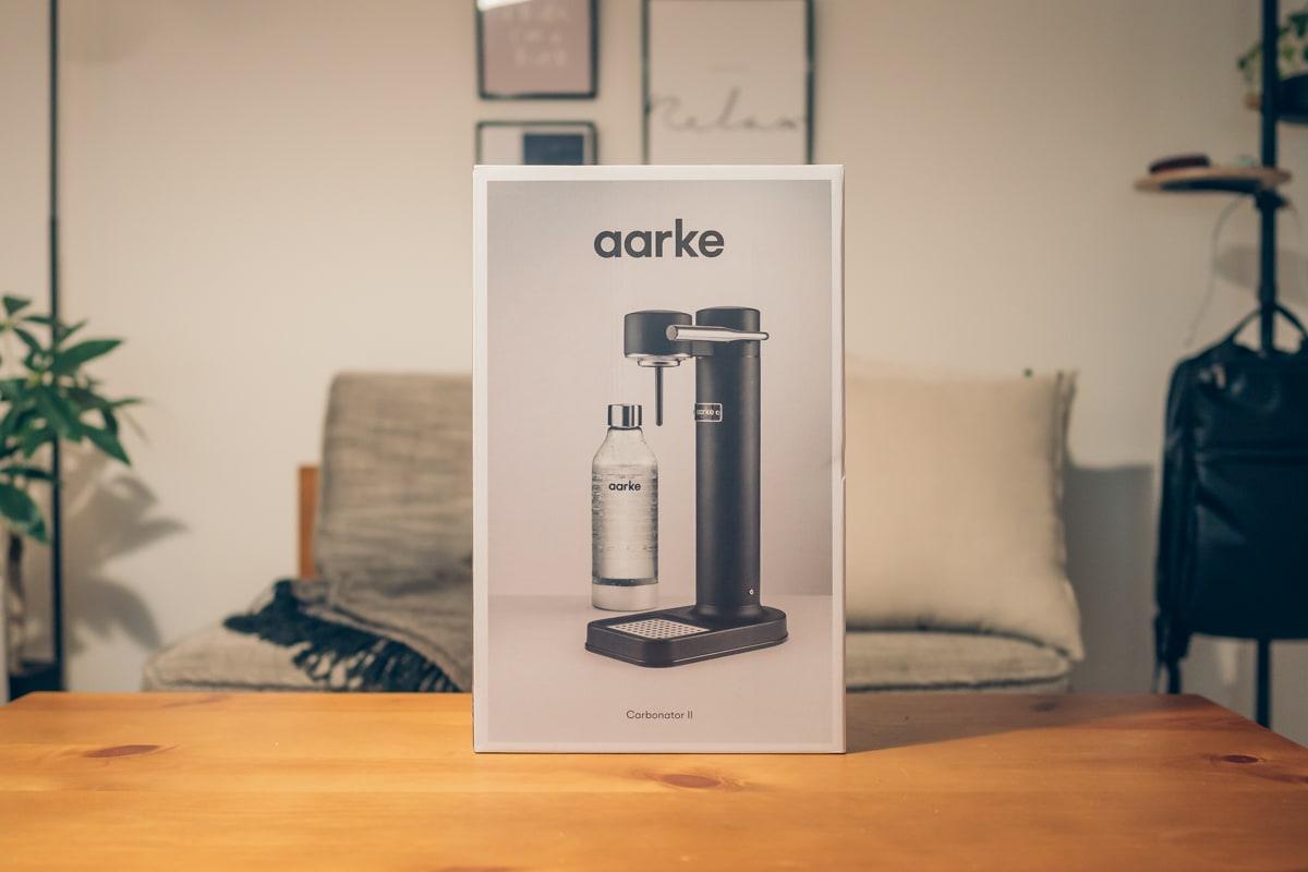 aarke(アールケ)Carbonator IIの商品パッケージ