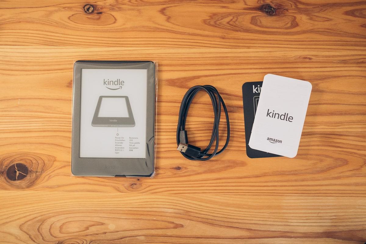 Kindle(無印・10世代)の付属品一覧