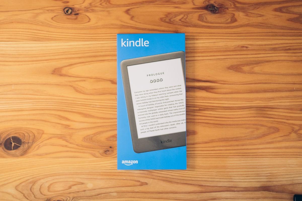 Kindle(無印・10世代)のパッケージ