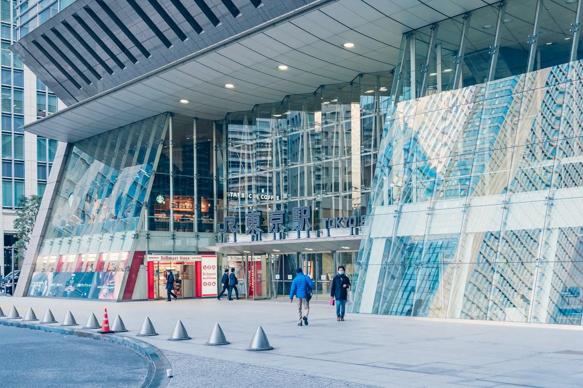 東京駅八重洲北口の写真
