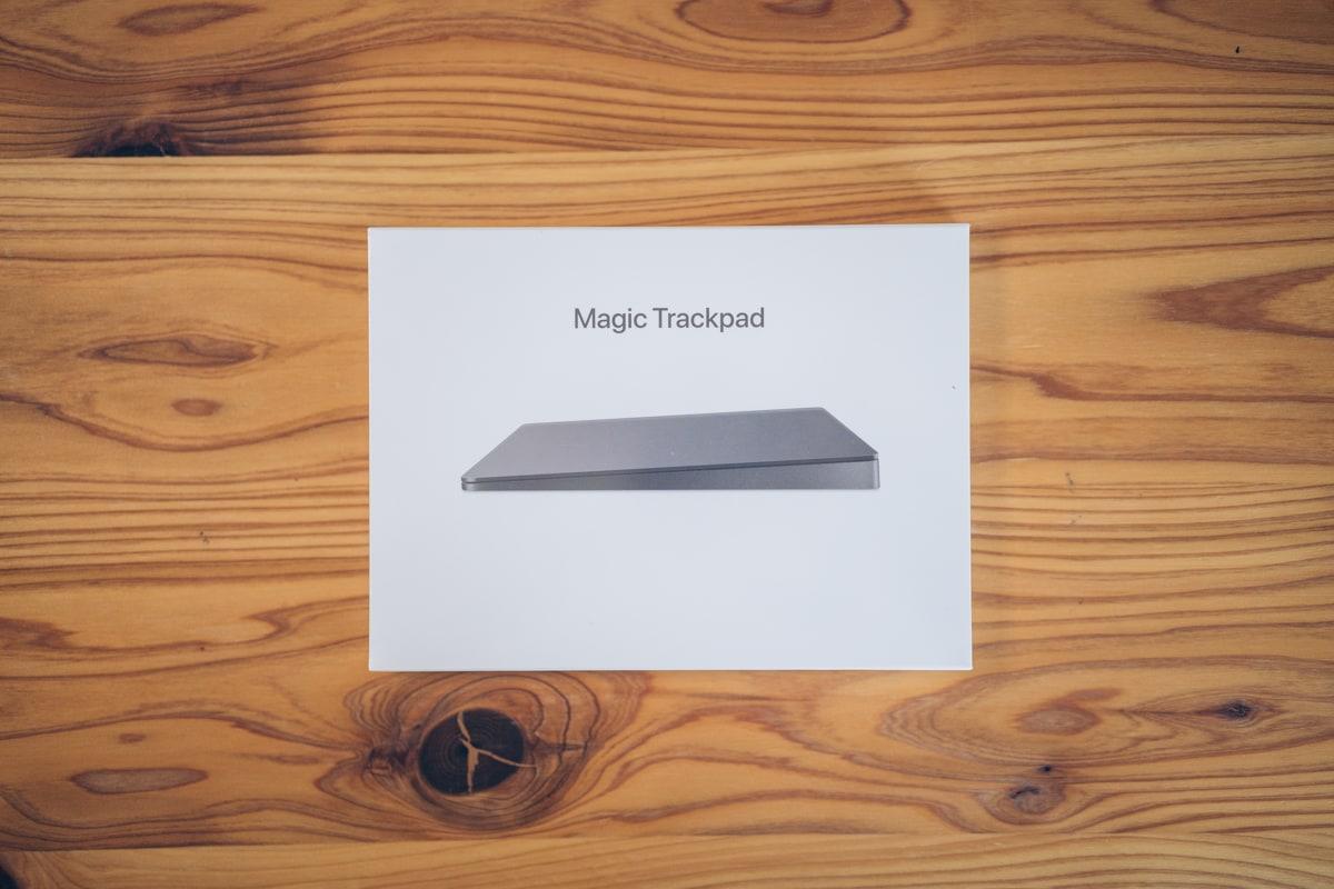 Magic Trackpad 2の製品パッケージ