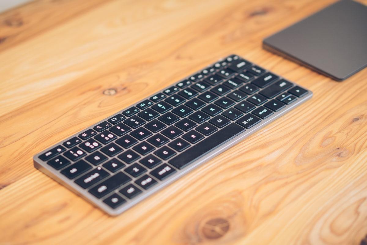 Slim X1 Bluetooth Backlit Keyboard
