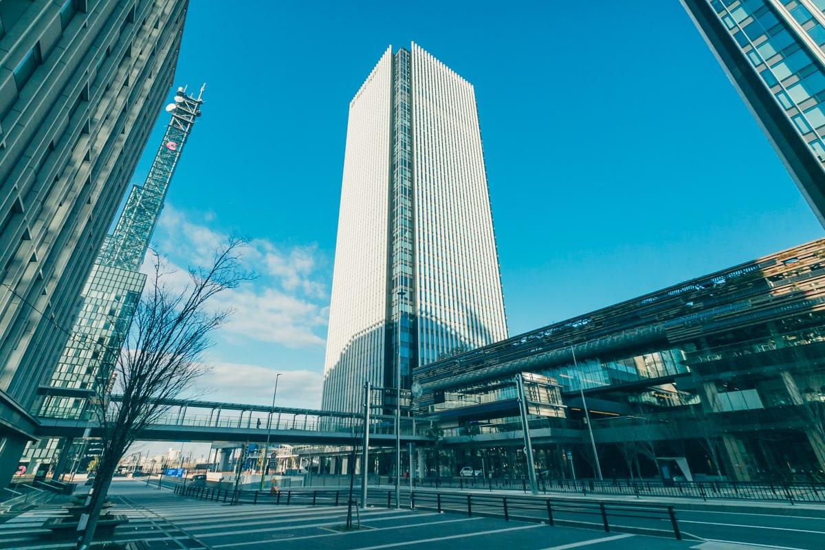 名古屋プリンスホテルスカイタワーの外観