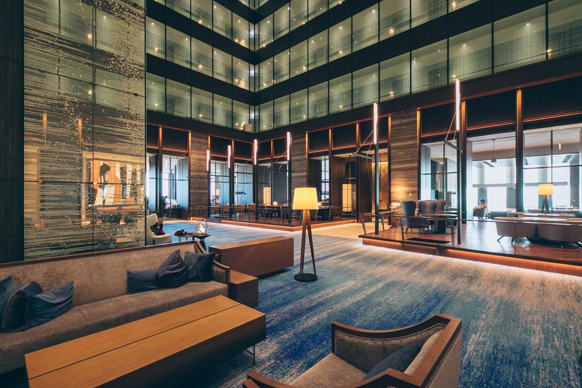 名古屋プリンスホテルスカイタワーのエントランスの写真