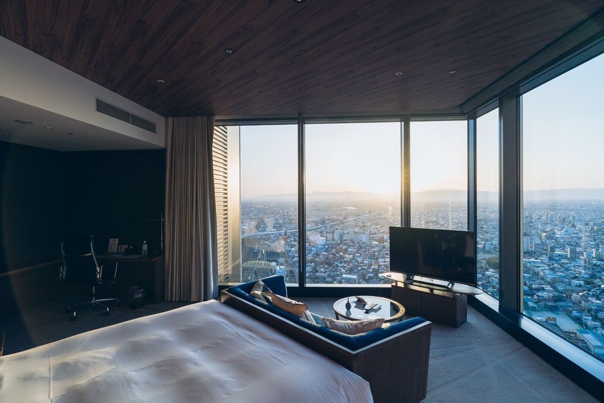 名古屋プリンスホテルスカイタワーの客室の写真